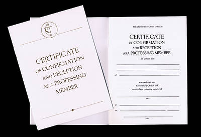 United Methodist Covenant I Confirmation and Reception Certificates (Pkg of 3)