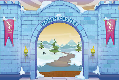 Picture of Vacation Bible School (VBS) 2020 Knights of North Castle Decorating Mural