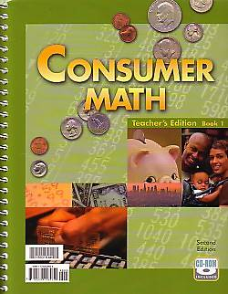 Consumer Math Teachers Edition (Includes CD) 2nd Edition