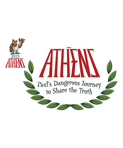 Group VBS 2013 Athens Iron-On Transfers (pkg. of 10)