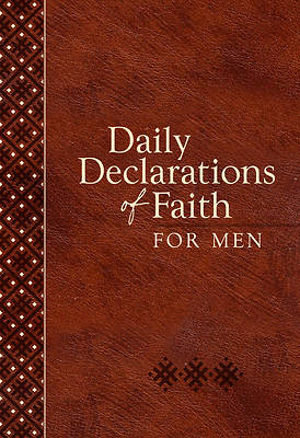 Picture of Daily Declarations of Faith for Men