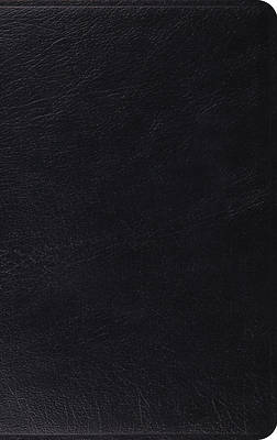 Picture of ESV Heirloom Thinline Reference Bible (Goatskin, Black)