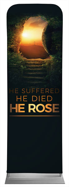 Picture of He Rose Easter Sleeve Banner