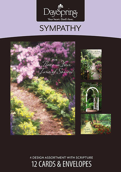 Picture of Peaceful Paths - Sympathy Boxed Cards - Box of 12