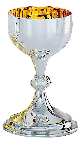 Chalice Agape Large Silver Plate