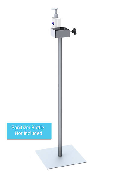Picture of Hand Sanitizer Pump Dispenser Fixed Height Floor Stand