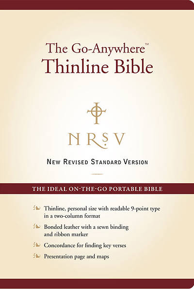 New Revised Standard Version Go-Anywhere Personal Size Thinline Bible