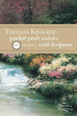 Thomas Kinkade Pocket Posh Sudoku 1 with Scripture