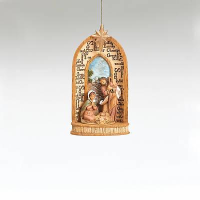 Picture of Fontanini Names of Jesus Ornament
