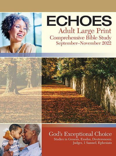 Echoes Adult Student Book Large Print Fall