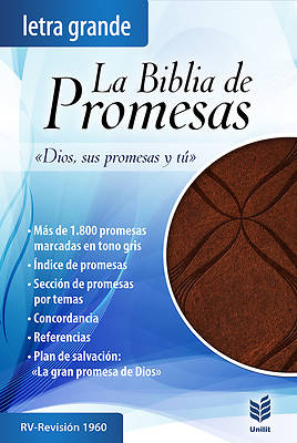 Picture of Biblia de Promesas Letra Grande-Rvr 1960