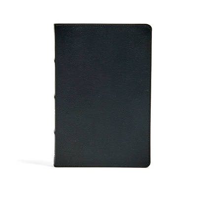 CSB Ultrathin Bible, Black Genuine Leather