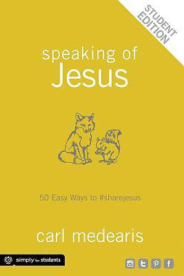 Picture of Speaking of Jesus Student Edition