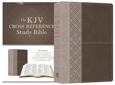 Picture of KJV Cross Reference Study Bible [Stone]