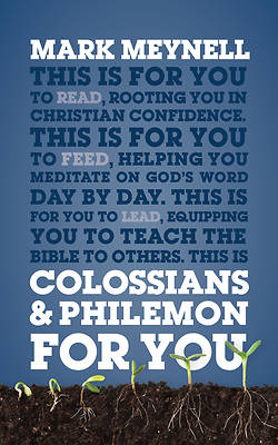 Picture of Colossians & Philemon for You