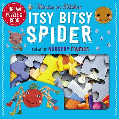 Jigsaw Puzzle and Book Itsy Bitsy Spider Set