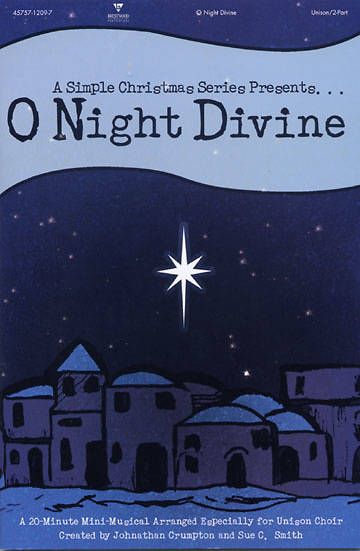 O Night Divine Choral Book