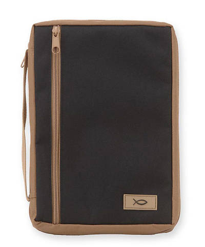 Bible Gear Two-Tone Canvas Bible Cover - Medium