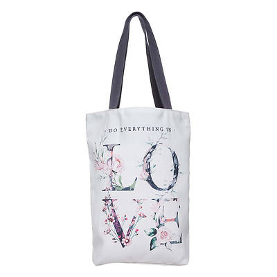 Picture of Do Everything in Love Canvas Tote Bag