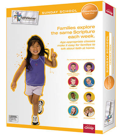 Groups Faithweaver Preschool Teacher Pack Winter 2012-13