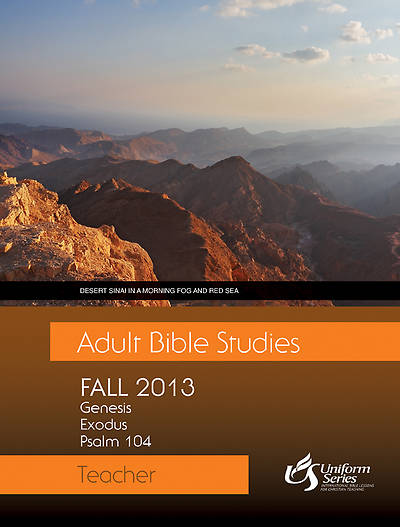 Adult Bible Studies Fall 2013 Teacher
