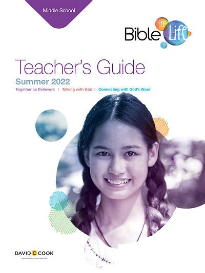 Bible-In-Life Middle School Teacher Guide Summer