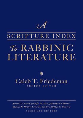 Picture of A Scripture Index to Rabbinic Literature