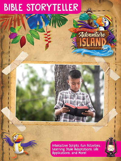 Picture of Vacation Bible School (VBS) 2021 Discovery on Adventure Island Bible Storyteller