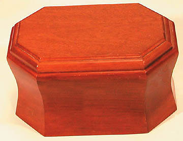 Urn Cherry with Removable Top