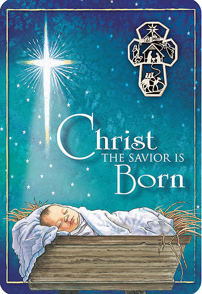 Picture of Christ the Savior is Born Lapel Pin