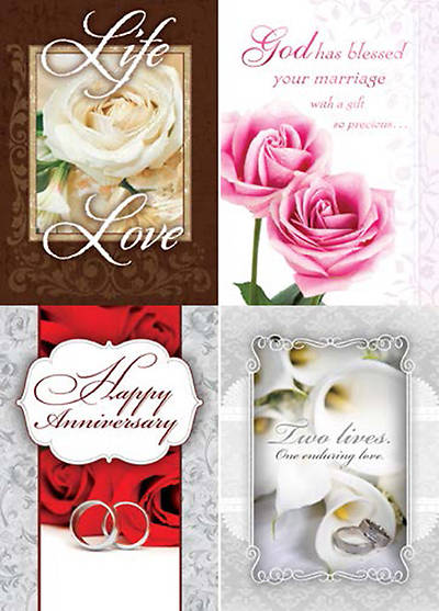 Lifetime of Love - Anniversary Boxed Cards - Box of 12