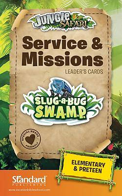 Standard VBS Jungle Safari Service & Missions Leaders Guide-Elem/PreTeen