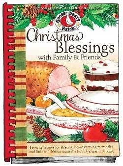 Christmas Blessings with Family and Friends Cookbook
