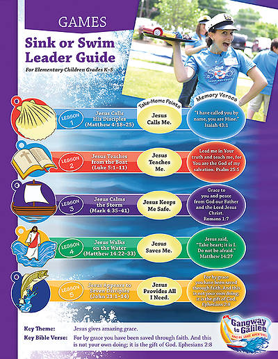 Concordia VBS 2014 Gangway to Galilee Sink or Swim Games Leader Guide