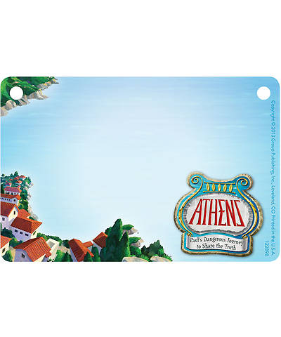 Group VBS 2013 Athens Name Badges (pkg. of 10)