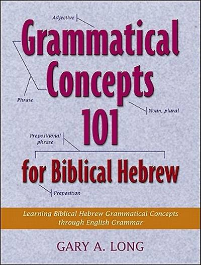 Grammatical Concepts 101 for Biblical Hebrew