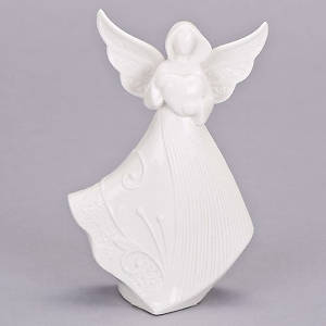 Picture of Angel and Heart Figurine