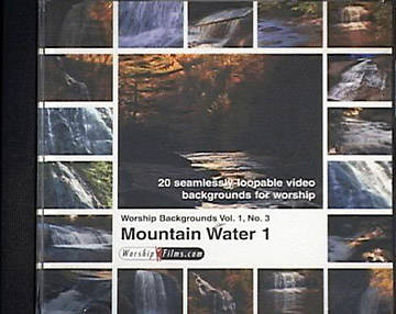 WorshipFilms Backgrounds Mountain Water Volume 1 Number 3