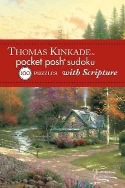 Picture of Thomas Kinkade Pocket Posh Sudoku 2 with Scripture