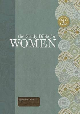 The Study Bible for Women, Chocolate Genuine Leather Indexed