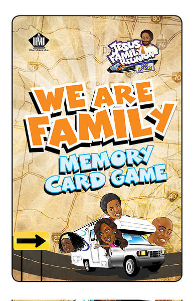 UMI VBS 2013 Jesus Family Reunion: The Remix  Family Motto Card Game Jr/Teen/Adults