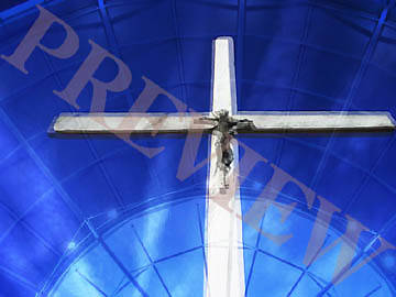 Picture of Download Still Blue Crucifix