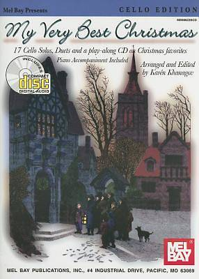 My Very Best Christmas Cello Edition With CD (Audio)