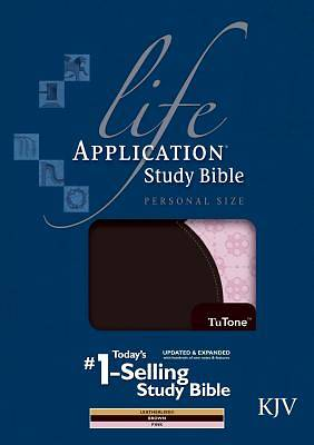 Life Application Study Bible KJV, Personal Size Tutone