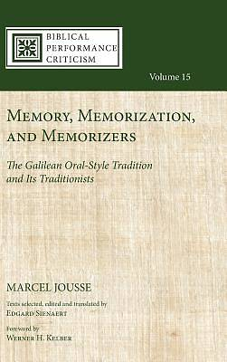 Picture of Memory, Memorization, and Memorizers