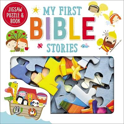 Picture of Jigsaw Puzzle and Book My First Bible Stories Set