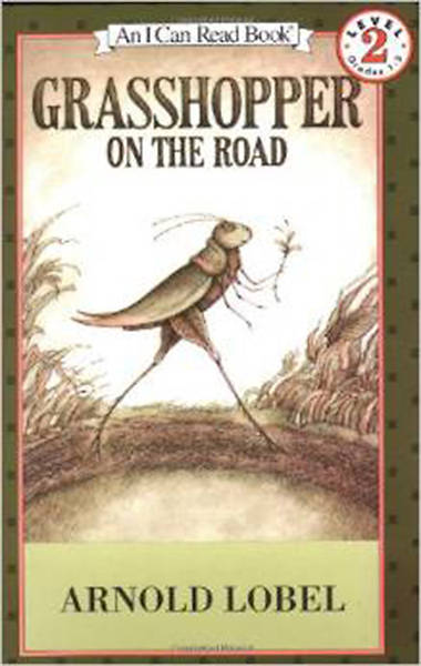Picture of Grasshopper on the Road