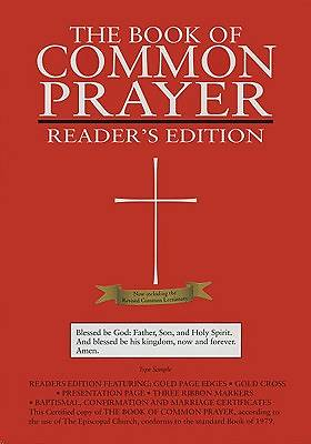 1979 Book of Common Prayer Readers Edition