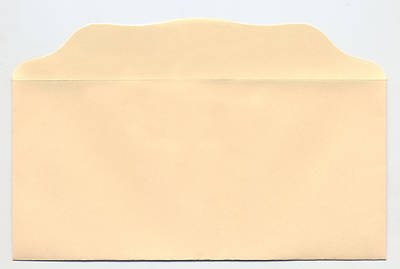 Picture of Bill Size Blank Offering Envelopes - Cream