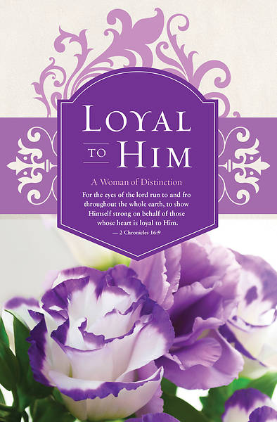 Loyal To Him Womens Day Regular Size Bulletin
